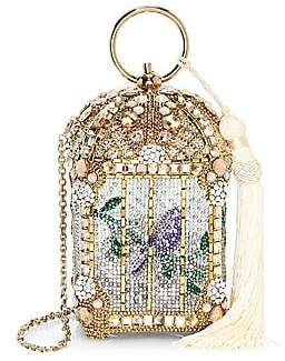 Judith Leiber Couture Women's Gilded Birdcage Clutch