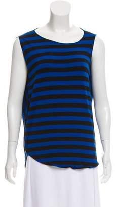Zero Maria Cornejo Striped Sleeveless Top