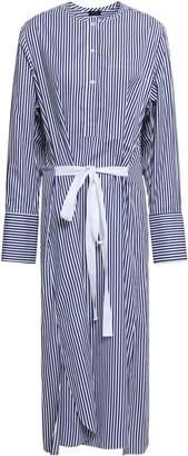 Joseph Nick Striped Cotton-poplin Midi Shirt Dress