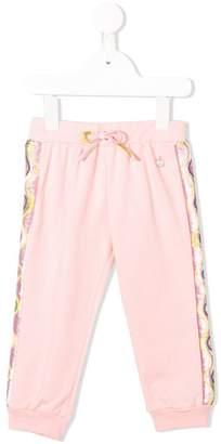 Emilio Pucci Junior side strap track pants
