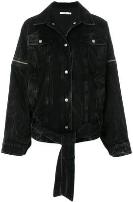 Givenchy oversized denim jacket