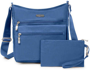 Baggallini Top Zip Flap Crossbody Bag - Women's
