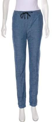 Proenza Schouler High-Rise Chambray Pants
