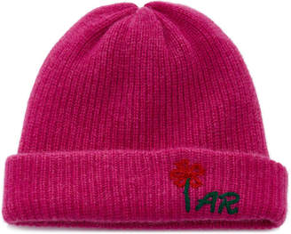 The Elder Statesman M'O Exclusive Monogrammable Embroidered Watchman Beanie