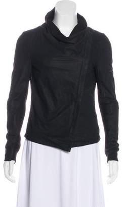 Muu Baa Muubaa Leather Zip-Up Jacket