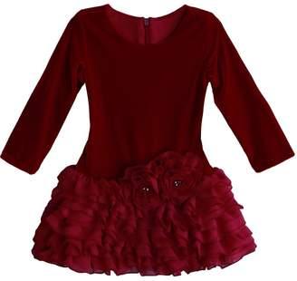 Chloé Isobella and Isobella & Little Girls Velvet Christmas Tutu Dress