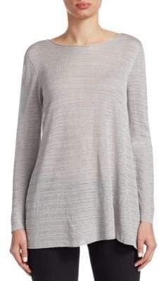 Emporio Armani Knit Long-Sleeve Top