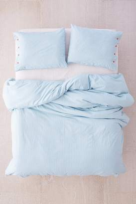Urban Outfitters Micro Check Duvet Cover