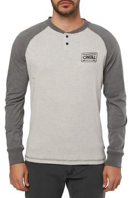 O'Neill Arcata Long Sleeve Henley T-Shirt
