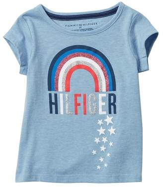Tommy Hilfiger Rainbow Tee (Little Girls)