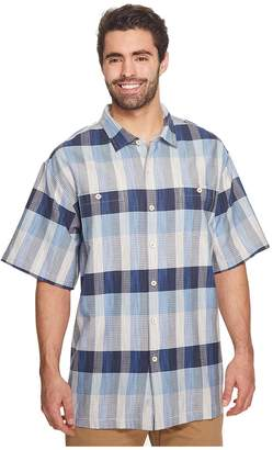 Tommy Bahama Big Tall Tamuda Bay Plaid Shirt Men's Clothing