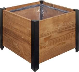 Grapevine Square Garden Planter Box