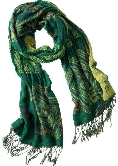 Women';s Fringed Jacquard Scarves