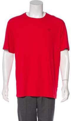 Versace Rib Knit Short Sleeve T-Shirt