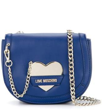 Love Moschino chain-detail crossbody bag