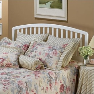 Hillsdale Furniture Carolina Headboard, Full/Queen Size, White Finish