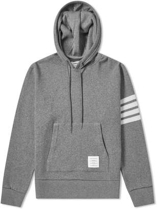 Thom Browne Shell Back Cashmere Pullover Hoody