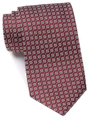 Ermenegildo Zegna Silk Squares Tie