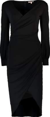Michael Kors Stretch Matte Jersey Wrap Dress