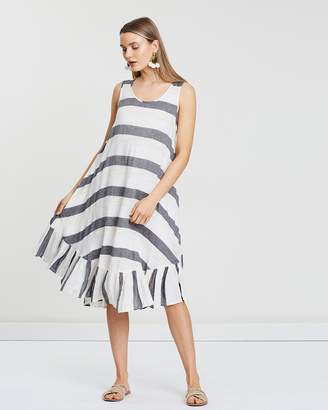 Walk the Line Frill Dress