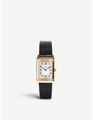 Jaeger-LeCoultre Q2662430 Reverso Duetto rose gold watch