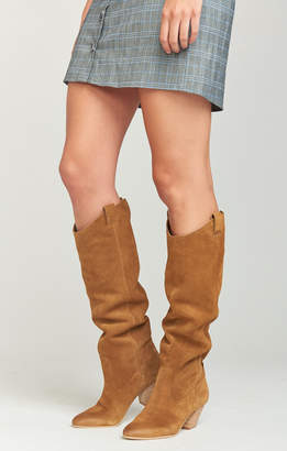 e2b9619d02c Show Me Your Mumu Dolce Vita ~ Hinley Knee High Bootie ~ Brown