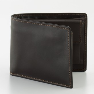 Dopp Leather Convertible Bifold Wallet