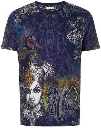 Etro Indian print T-shirt