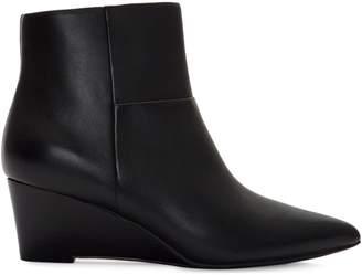 Cole Haan Eneida Leather Wedge Booties