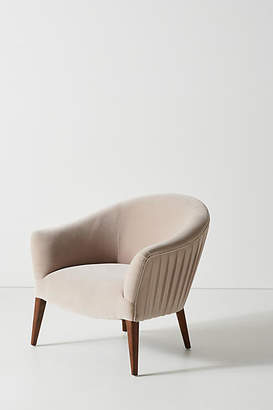 Anthropologie Amy Pleated Chair