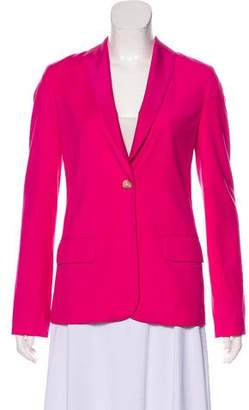 Elizabeth and James Woven Shawl-Lapel Blazer