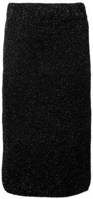 Laneus glitter pencil skirt