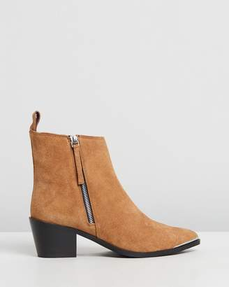 One Teaspoon Suede Monica Boots