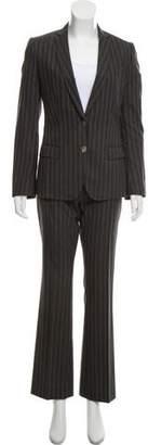 Dolce & Gabbana Wool Striped Pantsuit