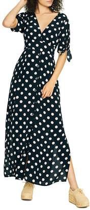 Sanctuary Love Worn Dot Print Maxi Dress