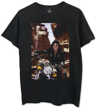 Michael Jackson Motorcycle Men's Graphic T-Shirt