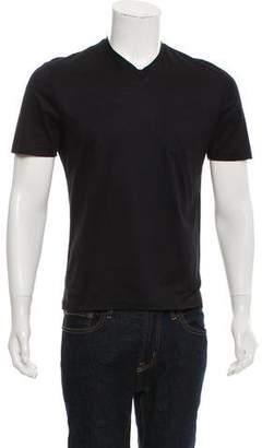 CNC Costume National V-Neck Short Sleeve T-Shirt