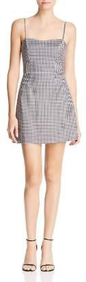 French Connection Tie-Back Gingham Mini Dress - 100% Exclusive