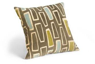 Rhumba 18 Square Pillow in Chocolate