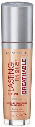 Rimmel London Lasting Finish Foundation Medium Coverage 30ml