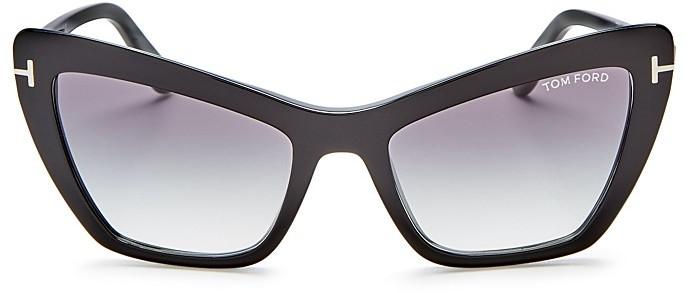 Tom FordTom Ford Valesca Cat Eye Sunglasses, 54mm