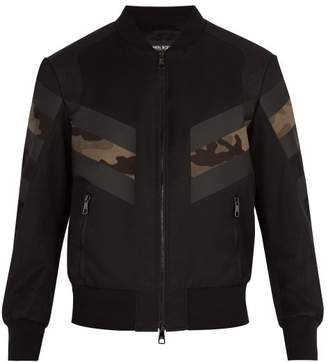 Neil Barrett Modernist Bomber Jacket - Mens - Black