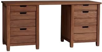 Pottery Barn Teen Sutton Drawer Storage Desk, Walnut