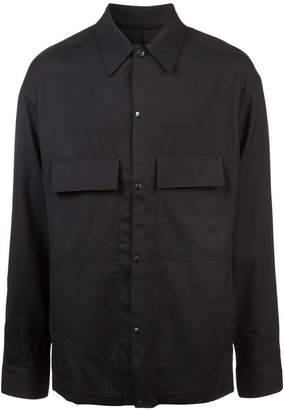 Lemaire patch pockets shirt