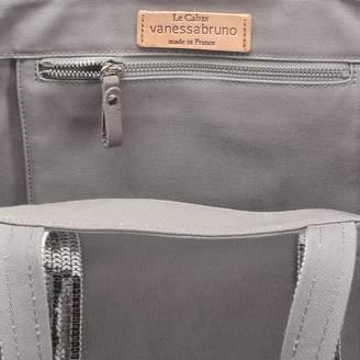 Vanessa Bruno Canvas and Sequins Medium + Tote Bag in Parma Cotton