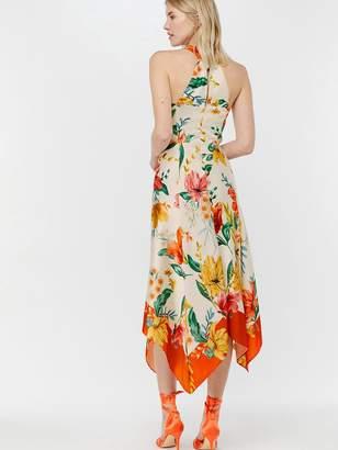 835f5de1f08a Monsoon Hazel Print Hanky Hem Dress - Ivory