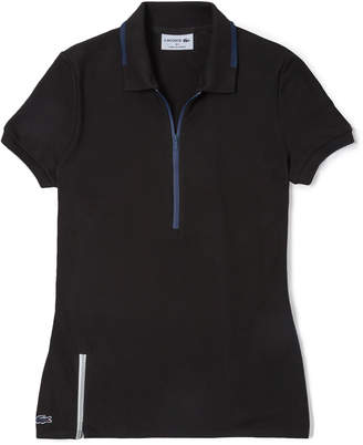 Lacoste (ラコステ) - 『Made in France』 ジップネックポロシャツ (半袖)