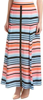 Nanette Lepore Candy Stripe Maxi Skirt
