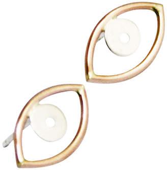 Stefanie Sheehan Jewelry Evil Eye Earrings