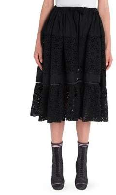 Fendi Sangallo Tie-Waist Skirt